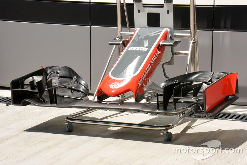 Переднее антикрыло Haas F1 Team VF-16