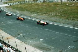 Renn-Action beim Indy 500 1954