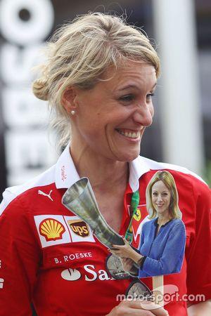 Britta Roeske, Ferrari Press Officer