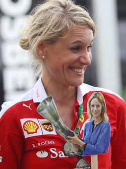 Britta Roeske, Ferrari Presse