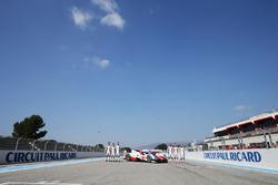 Toyota Racing: Stephane Sarrazin, Sebastien Buemi, Mike Conway, Anthony Davidson, Kazuki Nakajima, Kamui Kobayashi