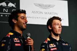 Daniel Ricciardo and Daniil Kvyat, Red Bull Racing