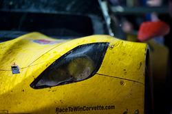 Detail vom GTLM Sieger #4 Corvette Racing Chevrolet Corvette C7.R