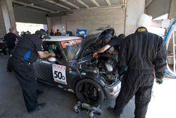James Keene, Dominic Martens, Jack Atley, Mini Cooper S JCW R53