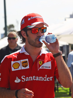 Jean-Eric Vergne, Ferrari Test and Development Driver