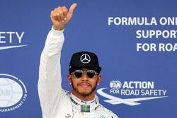 Polezitter Lewis Hamilton, Mercedes AMG F1 Team