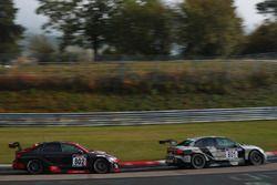 #801 Phoenix Racing, Audi RS 3 LMS: Jordi Gené, Kelvin van der Linde; #802 Phoenix Racing, Audi RS 3