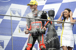 Podium : troisième place pour Sandro Cortese, Dynavolt IntactGP