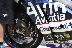 Mike Jones, Avintia Racing bike brakes detail