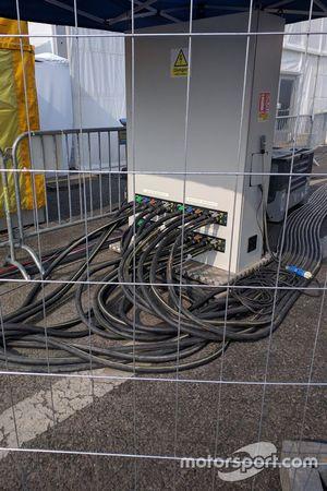 Formula E现场供电设备