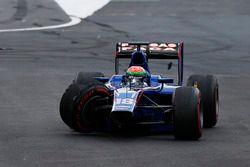 Sergio Canamasas, Carlin in a huge crash
