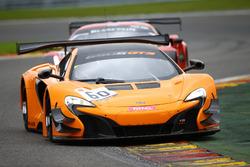 #60 McLaren GT, McLaren 650S GT3: Bruno Senna, Duncan Tappy, Pipo Derani