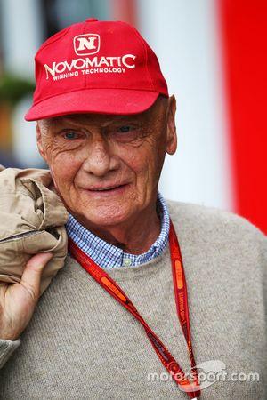 Niki Lauda, Président Non-Exécutif de Mercedes Non-Executive Chairman