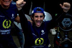 Nicolas Prost, Renault e.Dams celebrate