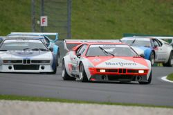 BMW M1 Procar legend race with Gerhard Berger and Niki Lauda