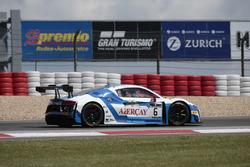 #6 Phoenix Racing, Audi R8 LMS ultra: Niki Mayr-Melnhof, Markus Winkelhock
