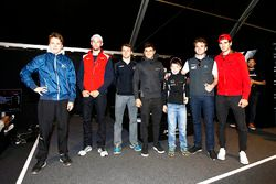 Gustav Malja, Rapax, Jimmy Eriksson; Arden International; Jordan King, Racing Engineering; Mitch Eva