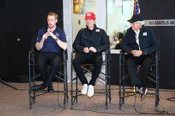 Charlie Kimball, Scott Dixon dan Mike Hull