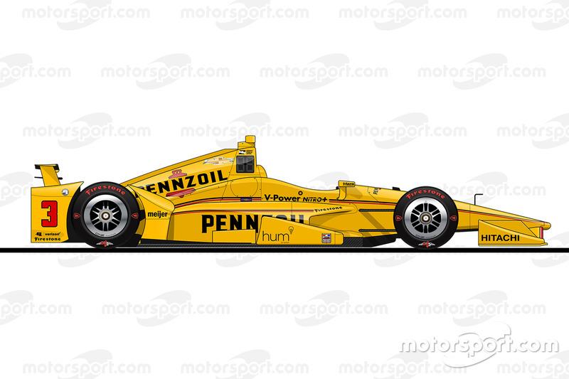 9. Элио Кастроневес, Team Penske Chevrolet