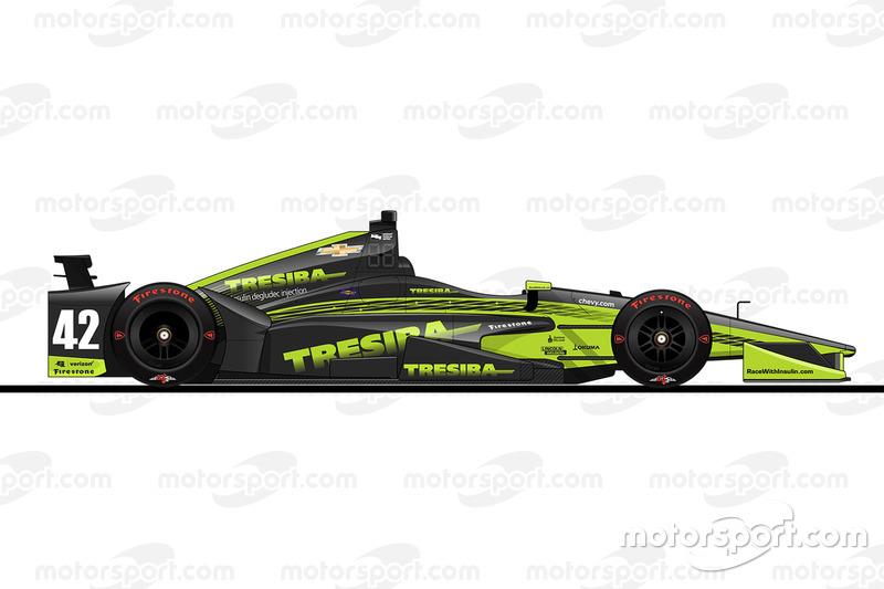 16. Чарли Кимболл, Chip Ganassi Racing Chevrolet