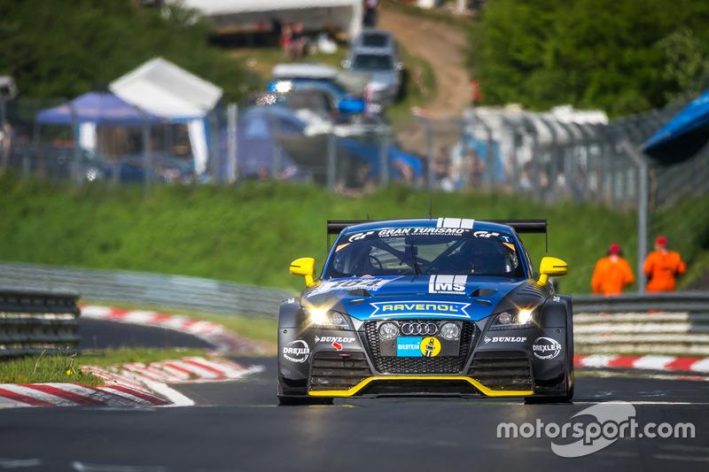 #104 LMS Engineering, Audi TTRS2: C. Tiger, Artur Goroyan
