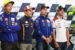 Valentino Rossi, Yamaha Factory Racing, Marc Marquez, Repsol Honda Team, Jorge Lorenzo, Yamaha Facto