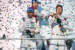 1st place overall winners #1 Porsche Team Porsche 919 Hybrid: Timo Bernhard, Mark Webber, Brendon Ha