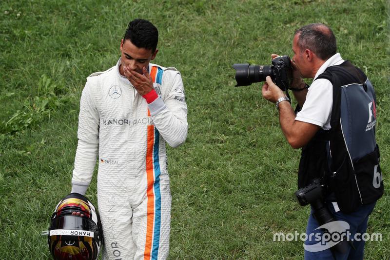 Pascal Wehrlein, Manor Racing se retiró de la carrera
