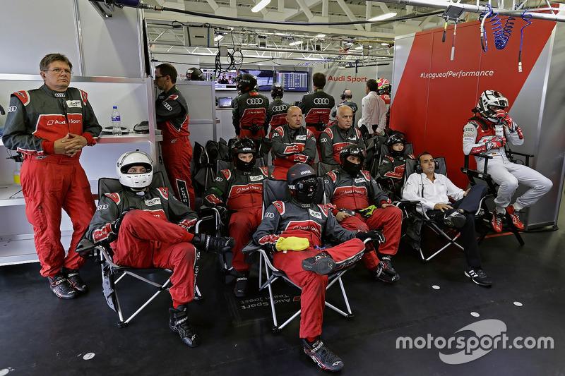 Benoît Tréluyer, André Lotterer, Audi Sport Team Joest