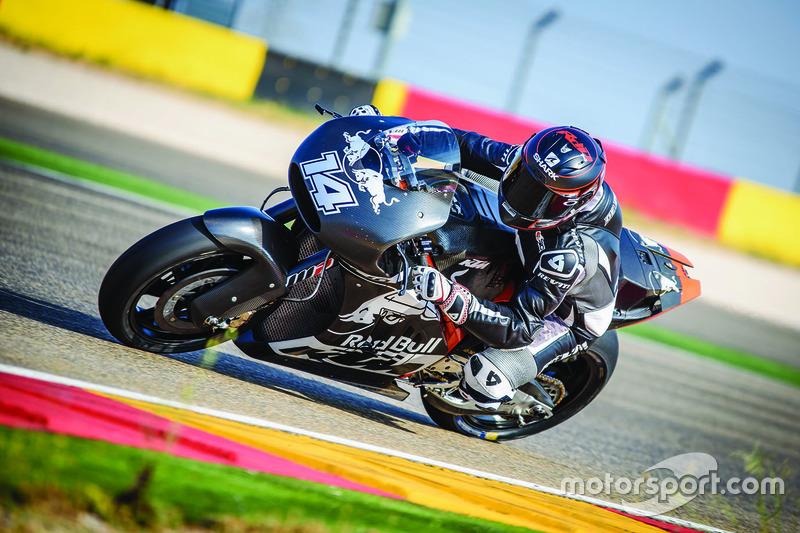 Randy de Puniet - Suzuki y KTM