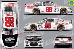 Cole Whitt throwback scheme