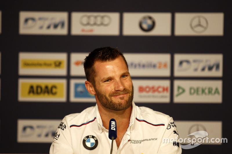 Conferenza stampa: Martin Tomczyk, BMW Team Schnitzer, BMW M4 DTM
