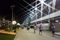 Singapore paddock