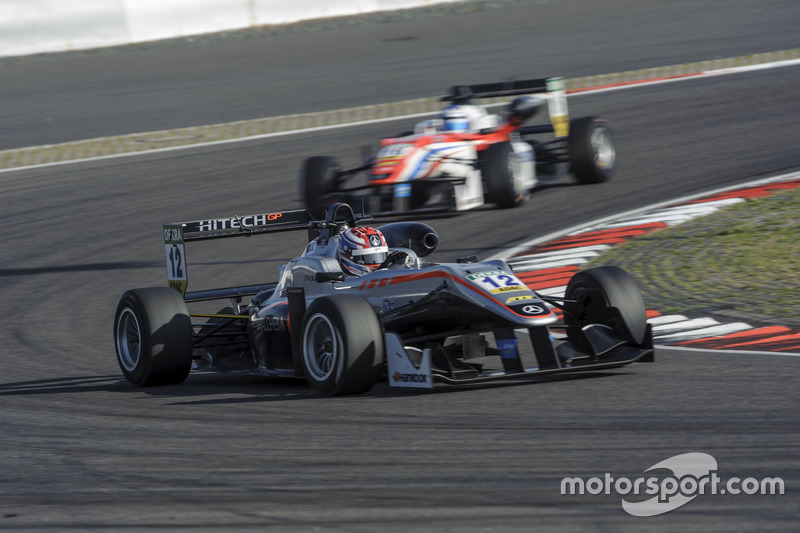George Russell, F3 europeia