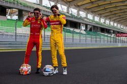 Norman Nato, Racing Engineering y Antonio Giovinazzi, PREMA Racing
