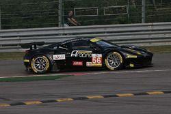 Escape road; #56 AT Racing, Ferrari F458 Italia: Alexander Talkanitsa, Alexander Talkanitsa Jr, Alessandro Pier Guidi
