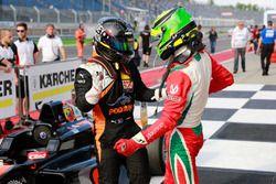 Joseph Mawson, Van Amersfoort Racing, y Mick Schumacher, Prema Powerteam