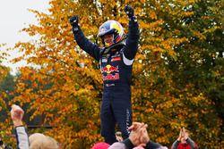 Yarış galibi Sébastien Loeb, Team Peugeot Hansen