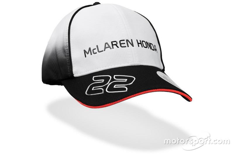 Casquette McLaren-Honda de Jenson Button 2016