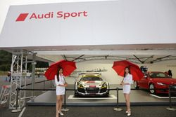 Audi booth