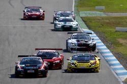 #55 Aust Motorsport, Audi R8 LMS: Steve Feige, Bas Schothorst; #32 Bonaldi Motorsport, Lamborghini H
