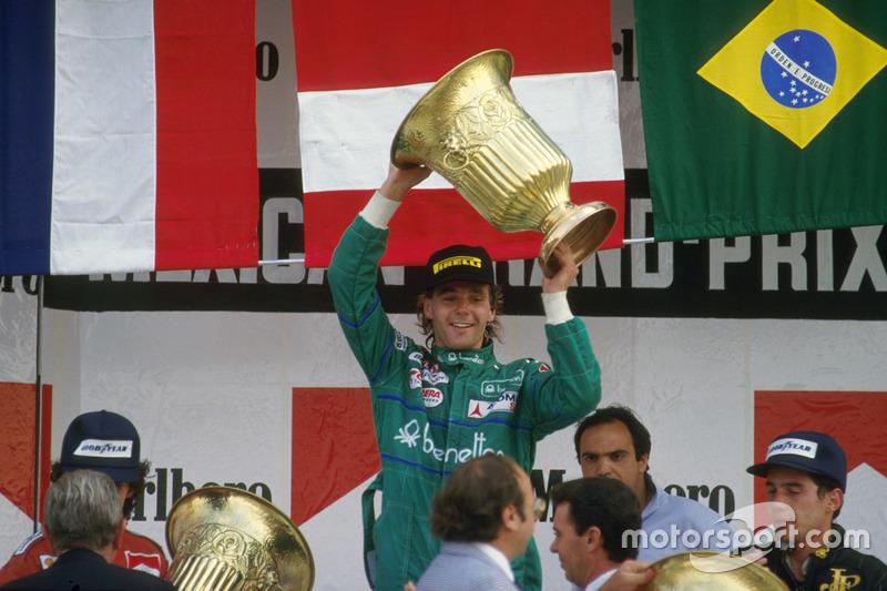#76 Gerhard Berger, Benetton