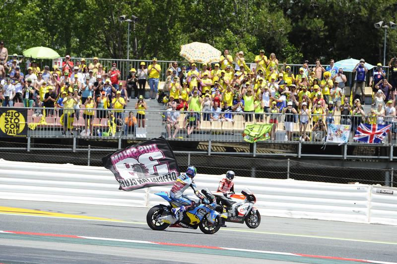 Xavier Simeon, QMMF Racing Team, Alex Marquez, Marc VDS, Luis Salom remembrance