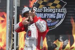 Polesitter Carlos Munoz, Andretti Autosport Honda