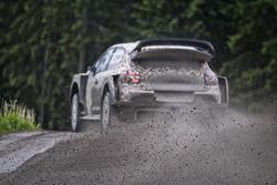 Kris Meeke testet den Citroën C3 WRC 2017