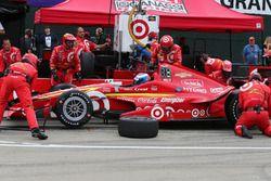Scott Dixon, Chip Ganassi Racing Chevrolet aux stands