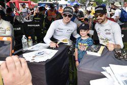 Josef Newgarden, Ed Carpenter Racing Chevrolet, James Hinchcliffe, Schmidt Peterson Motorsports Honda