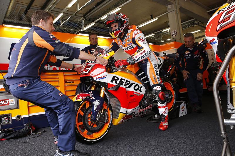 Márquez solide leader du championnat