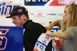 Scott Redding, Pramac Racing, mit seiner Freundin