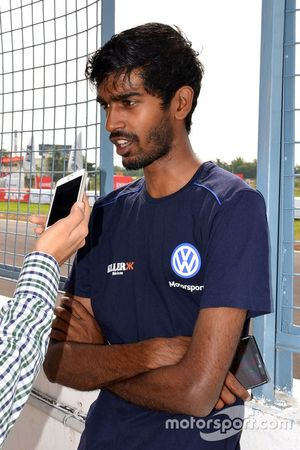 Keith Desouza during interview